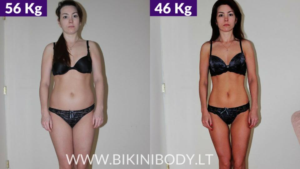 Lilija – bikinibody